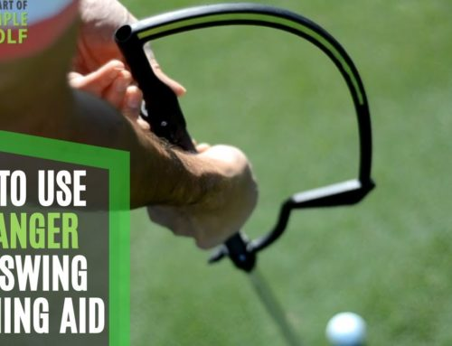 How to Use and Set up the Hanger Golf Swing Training Aid Golf Swing Training Tips
