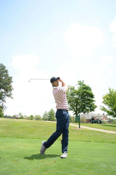 golf practice alex fortey