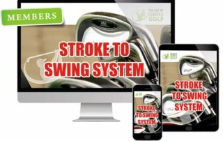 stroke to swing golf