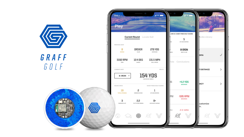 graff golf smart ball