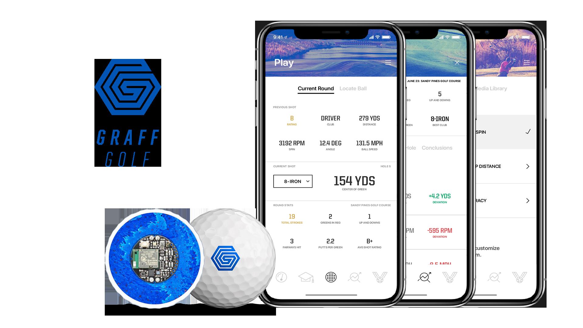 graff golf smart ball