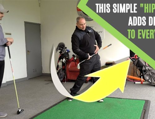 "GOLF SWING SPEED: THIS SIMPLE ""HIP PUSH"" ADDS DISTANCE TO EVERY DRIVE (TRY IT)"