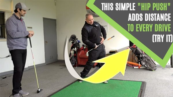golf swing hip move for speed