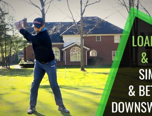 GOLF SWING LOAD UP AND FALL FOR A SIMPLE AND BETTER  DOWNSWING