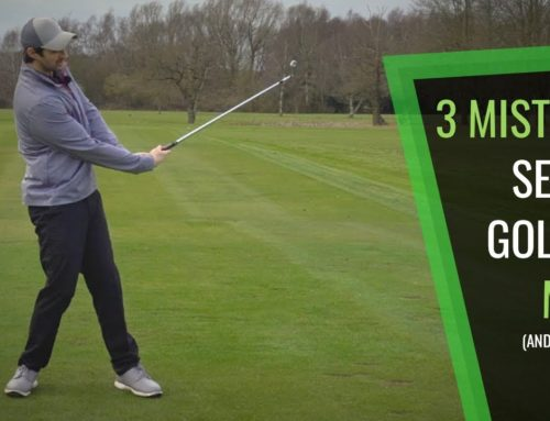 3 MISTAKES SENIOR GOLFERS (AND ALL GOLFERS) MAKE AND HOW TO EASILY SOLVE THEM
