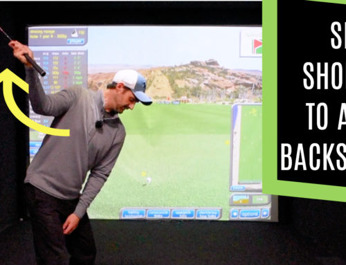 GOLF BACKSWING MADE EASY WITH A SHORTCUT TO A FULL ROTATION