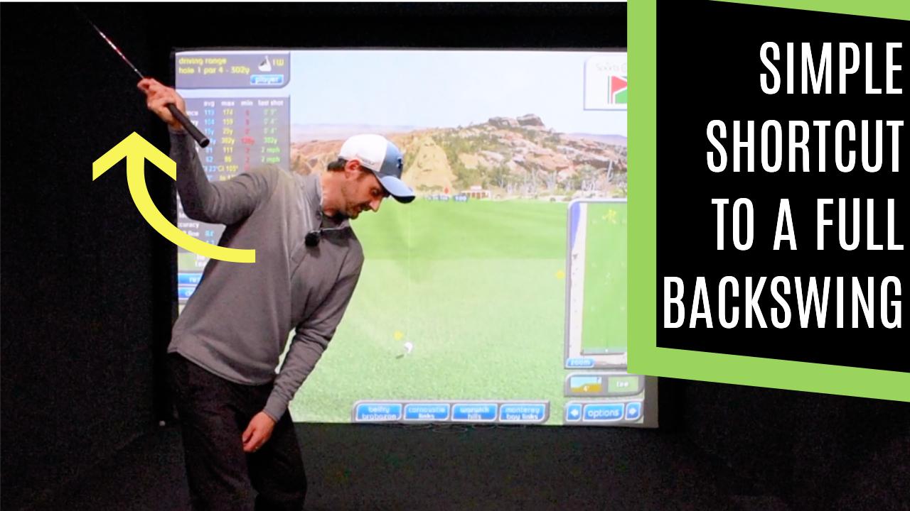 backswing for golf