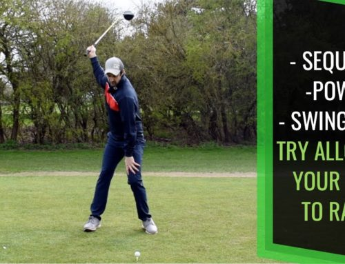 GOLF SWING POWER & CONSISTENCY: ALLOW YOUR HEEL TO RISE LIKE NICKLAUS, SNEAD, PALMER, BUBBA MOLANARI