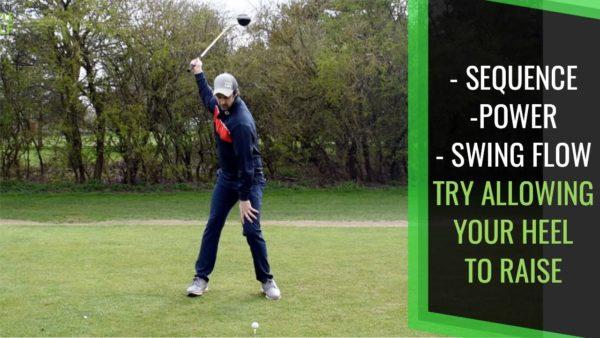driver power senior golfer