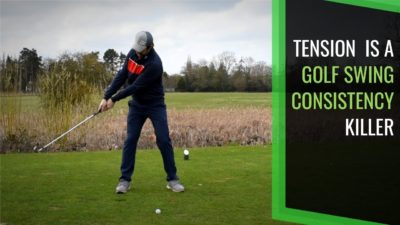 tension golf swing consistency fix