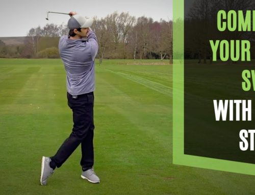 COMPLETE YOUR GOLF SWING SMOOTHLY WITH LESS STRAIN