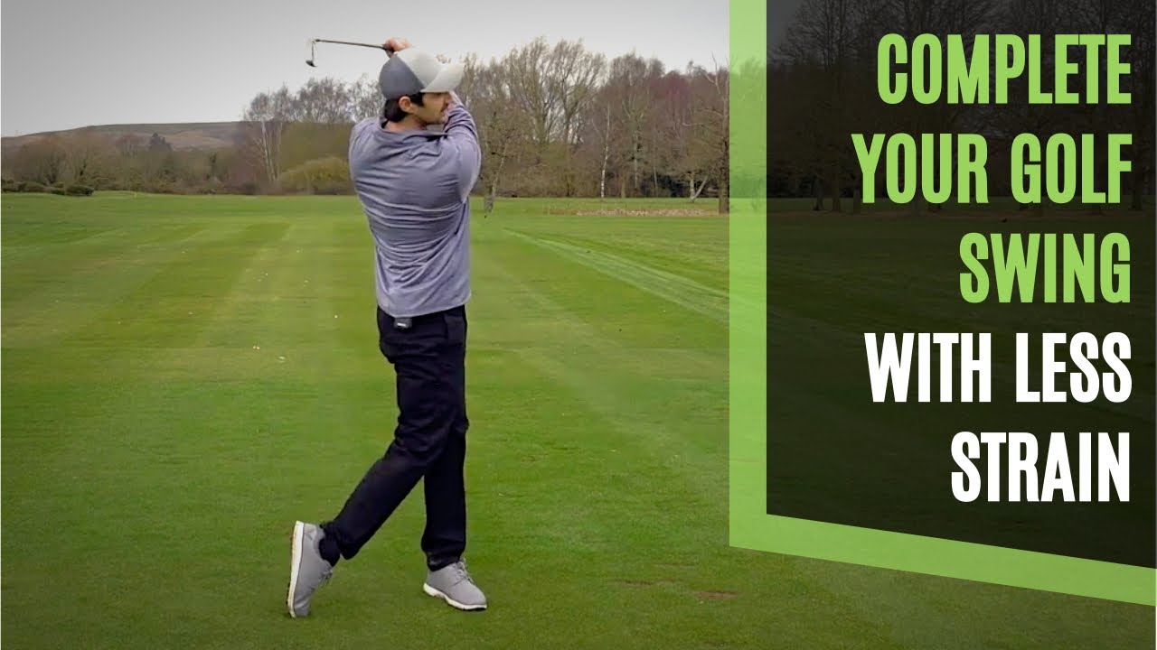 complete golf swing