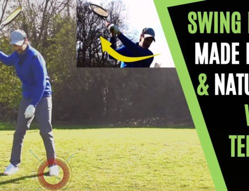 EASY GOLF SWING TO IMPROVE FLOW, SHALLOWING AND NATURAL GOLF WITH TENNIS ?
