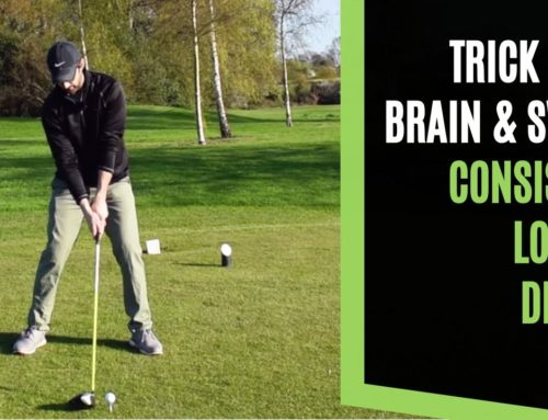 HOW HIGH TO TEE THE DRIVER TO TRICK YOUR BRAIN AND SWING FOR CONSISTENT LONGER GOLF DRIVES