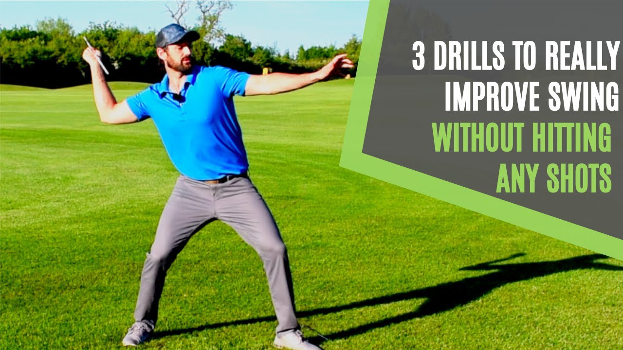 3 drills at home for golf no equipment golf swing