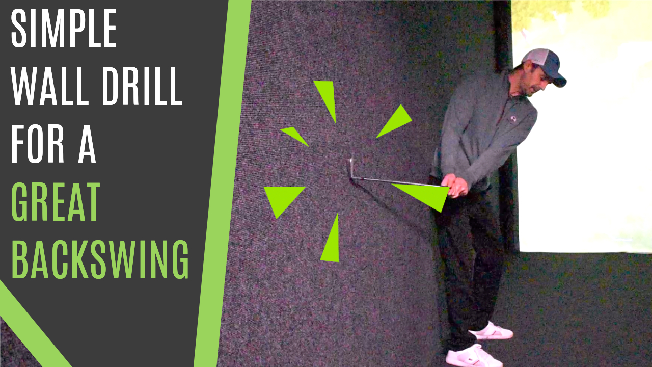 how to backswing golf drill