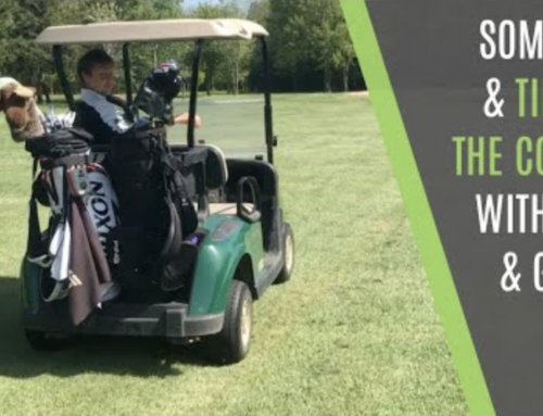 GOLF TIPS TO IMPROVE YOUR GAME ON THE COURSE AND FUN WITH ALEX AND GABBY