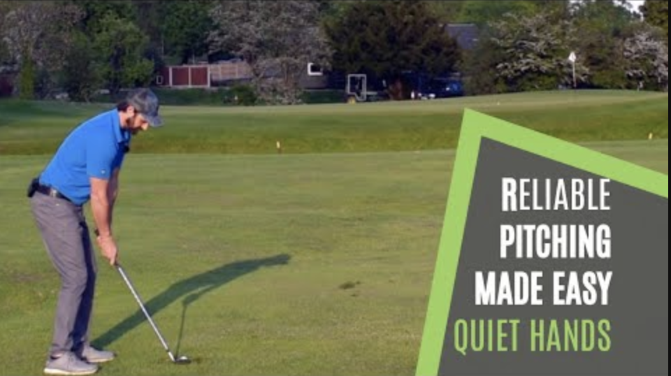 pitching golf tip