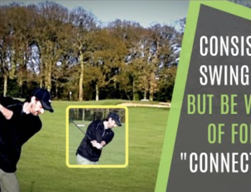 CONSISTENT NOT FORCED SWING CONNECTION DRILL FOR YOUR OWN SWING
