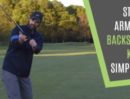 BACKSWING RIGHT ARM ANNOYING PULL KILLER: SIMPLE FIX FOR CONSISTENCY