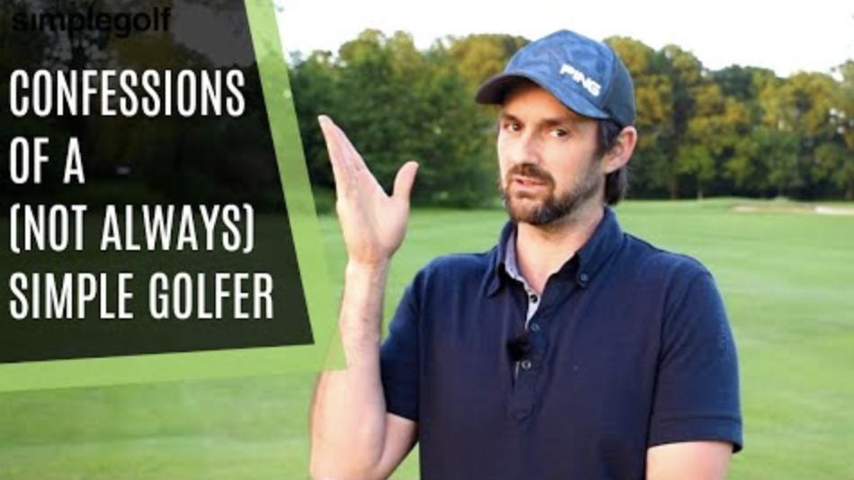 simple golf confession