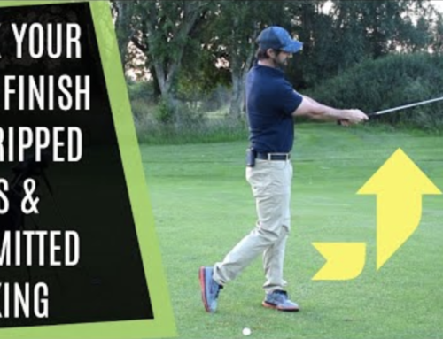 STRIKE YOUR IRONS SOLID WITH COMMITTED STRIKING AND STICK YOUR HALF FINISH