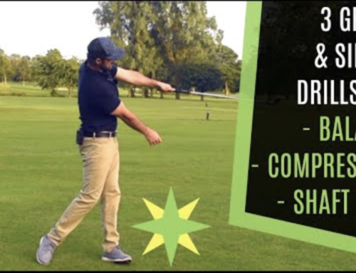 HOW TO STRIKE YOUR IRONS: 3 GREAT DRILLS FOR BALANCE, COMPRESSION & SHAFT LEAN