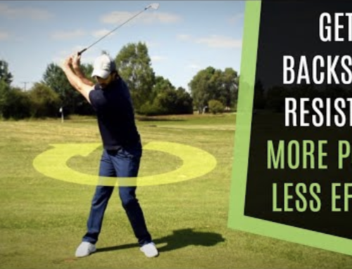 GET MORE ROTATION IN YOUR GOLF SWING WITH LESS RESISTANCE