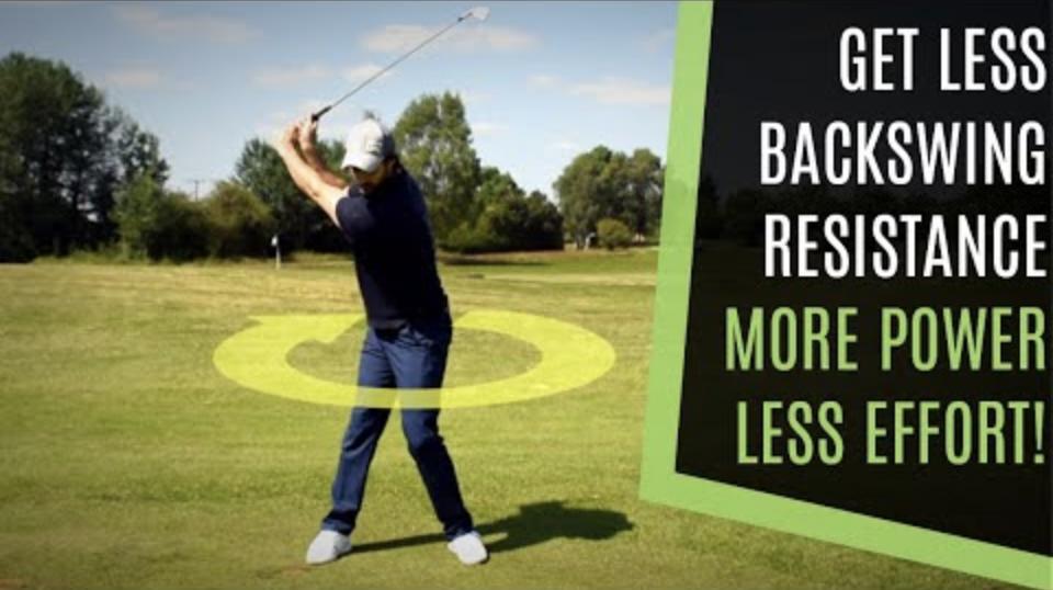 rotation golf swing
