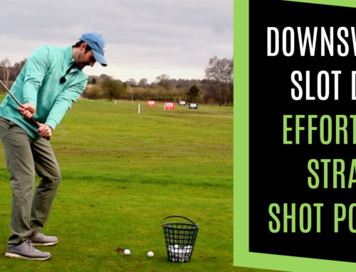 HOW TO MAKE A DOWNSWING WITH THIS SLOT DRILL