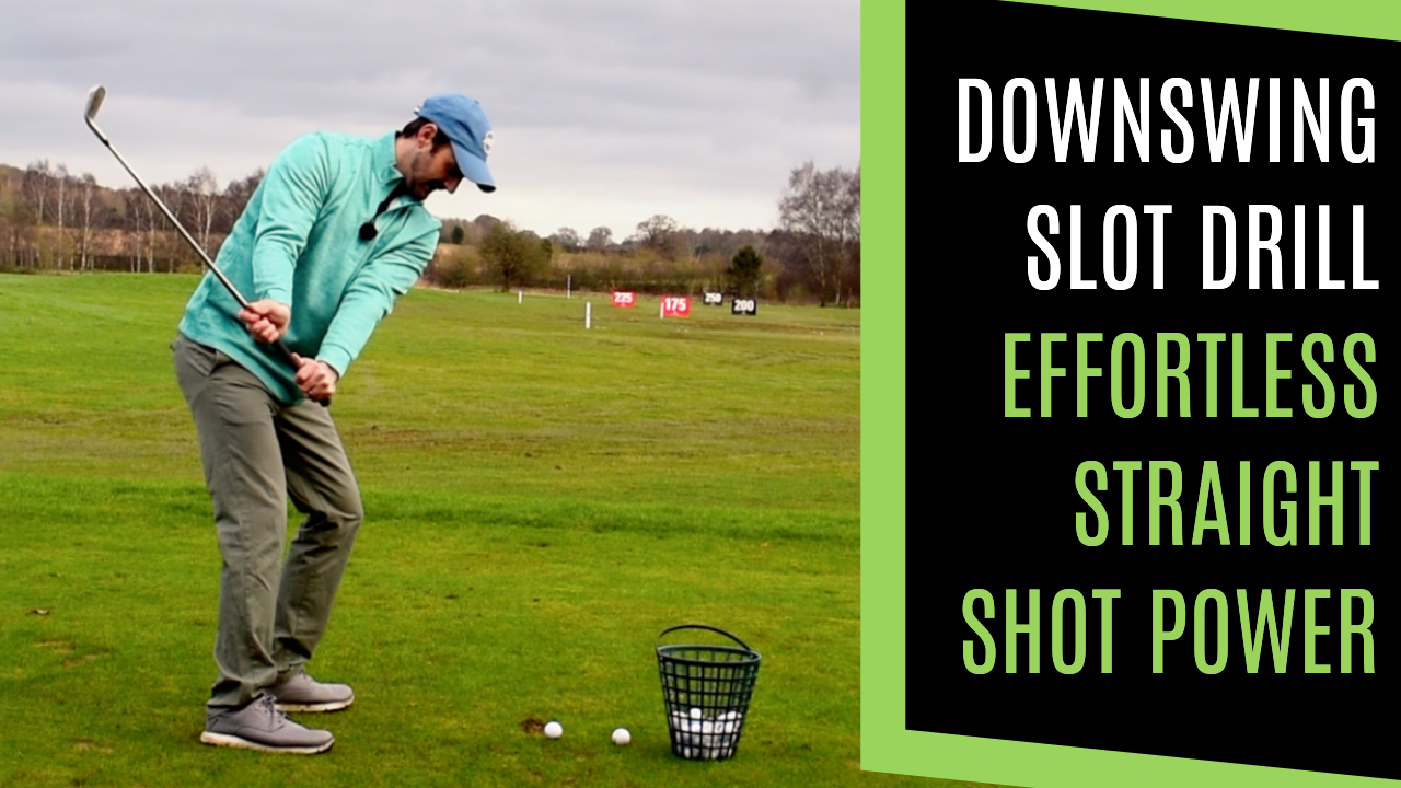 downswing for golf shallow