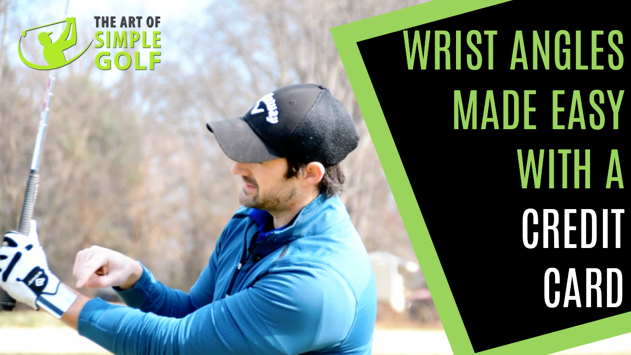 golf swing wrist angles