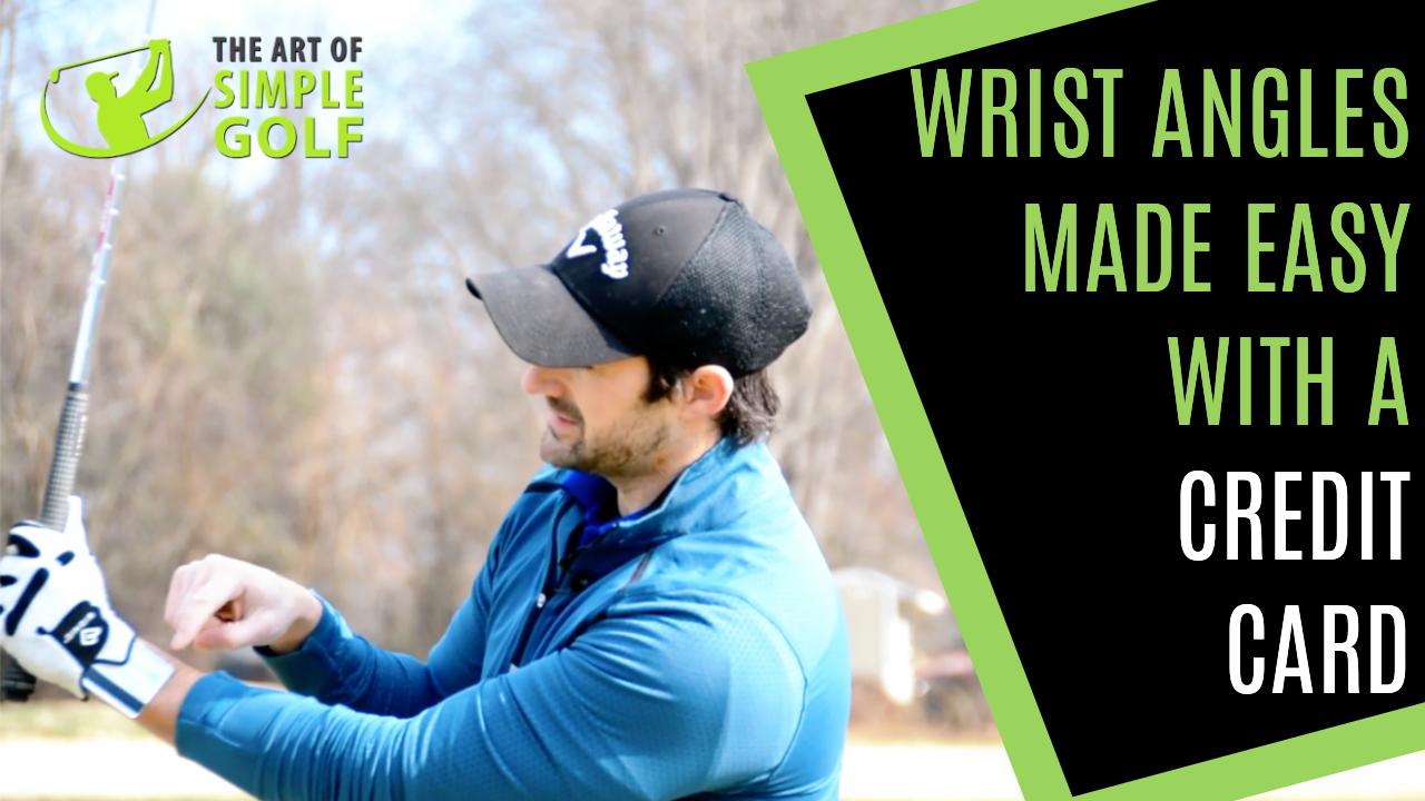 golf swing wrist angles