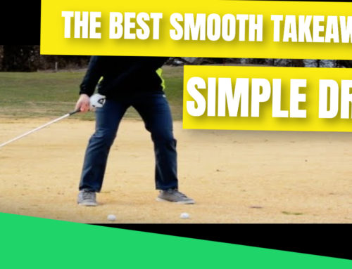 Golf Swing Takeaway Made Smooth, Wide and EASY With This Simple Drill