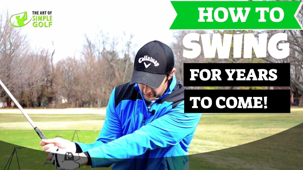 how to swing a golf club senior