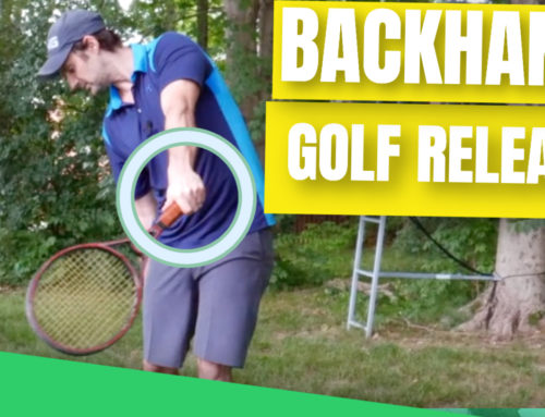 Simple Golf Swing Backhand Release For Effortless Power And Consistency