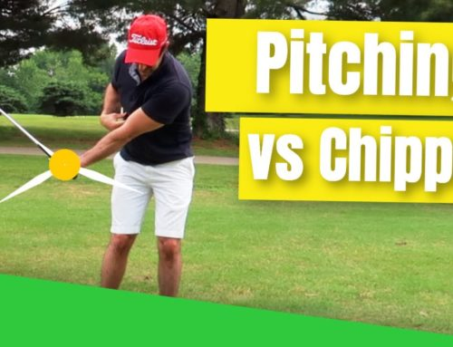 Chipping vs Pitching In Golf | What's The Difference 🤔