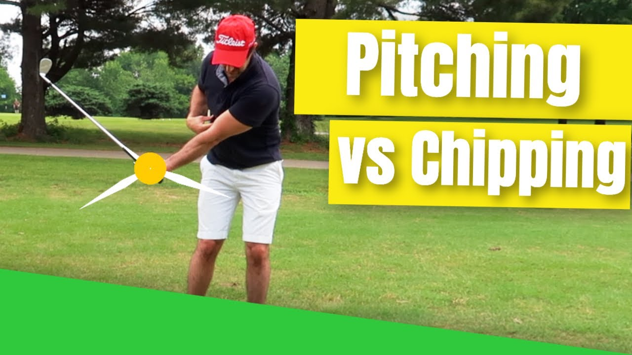 chipping vs pitching golf