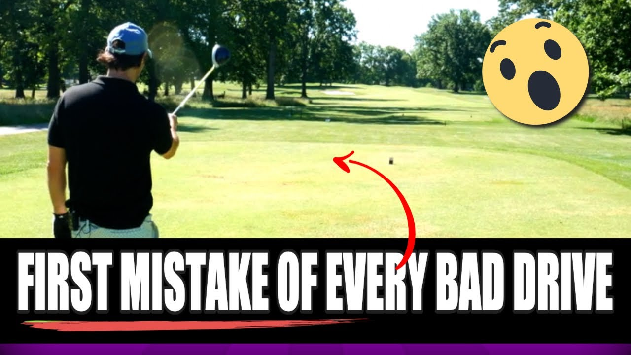 first mistake of every bad drive