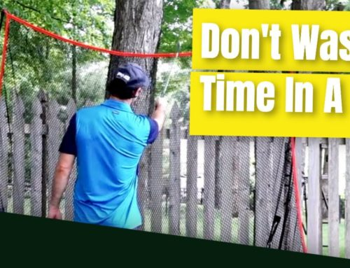 Golf Swing Practice Made Effective // How To Practice Golf in A Net