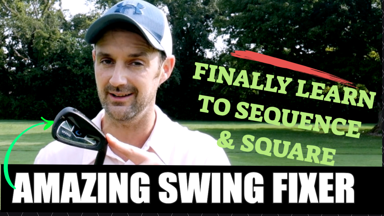 sequence golf swing g force training aid