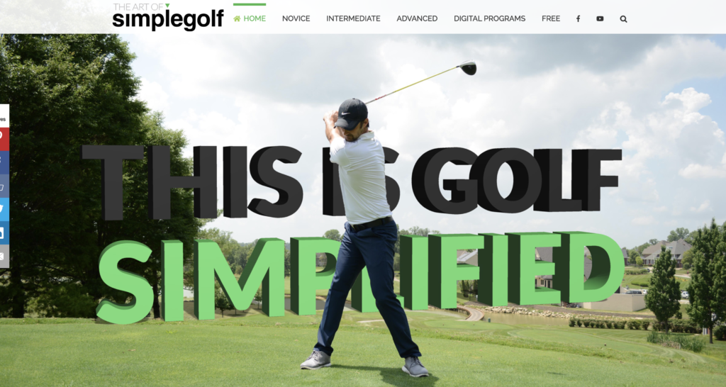 THE ART OF SIMPLE GOLF