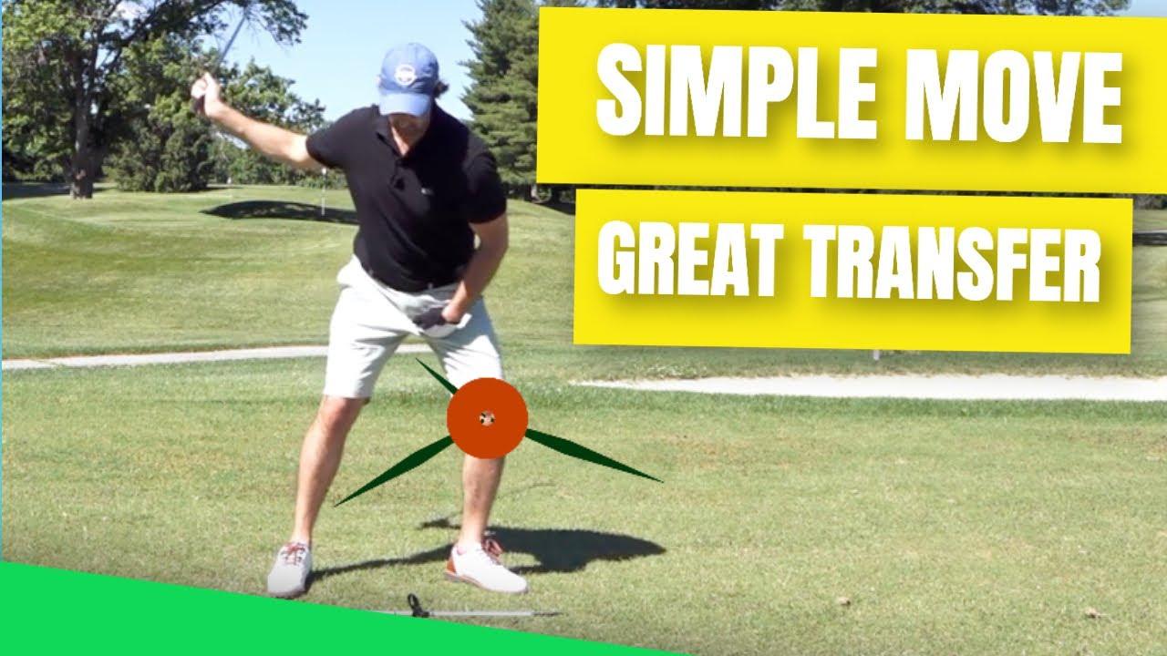 golf swing weight transfer