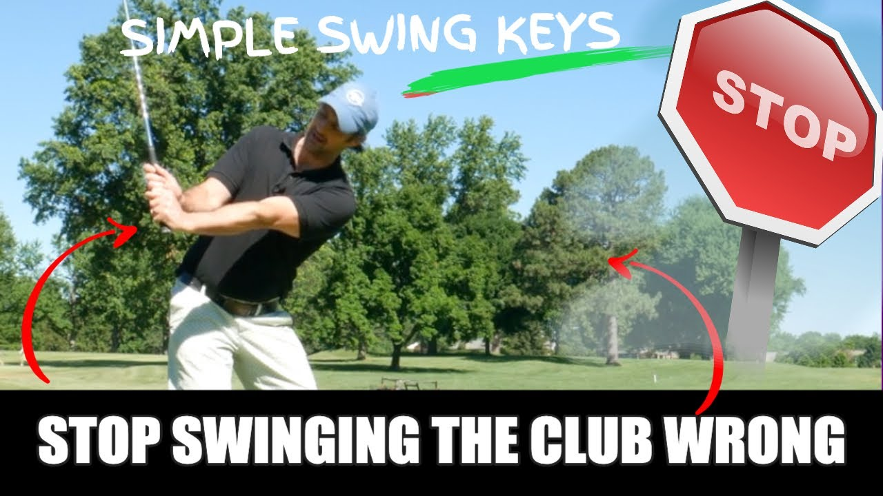 swing the golf club simple