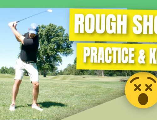 How To Hit Irons Consistently From Out The Rough (Practice It!)