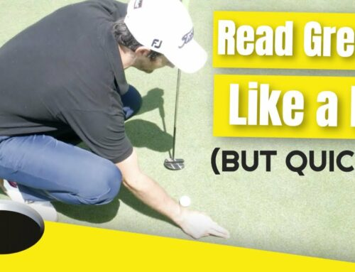 How To Read The Greens Like A Pro (Takes less than 1 min)