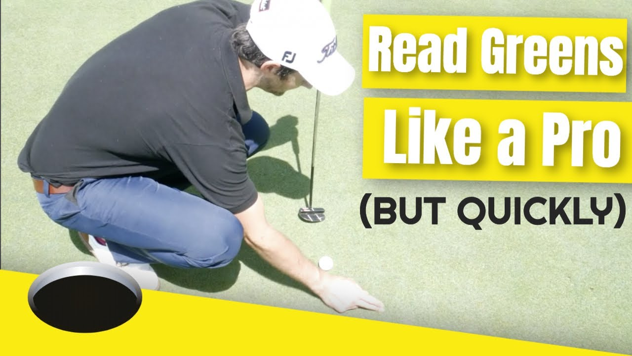 read putts like a pro