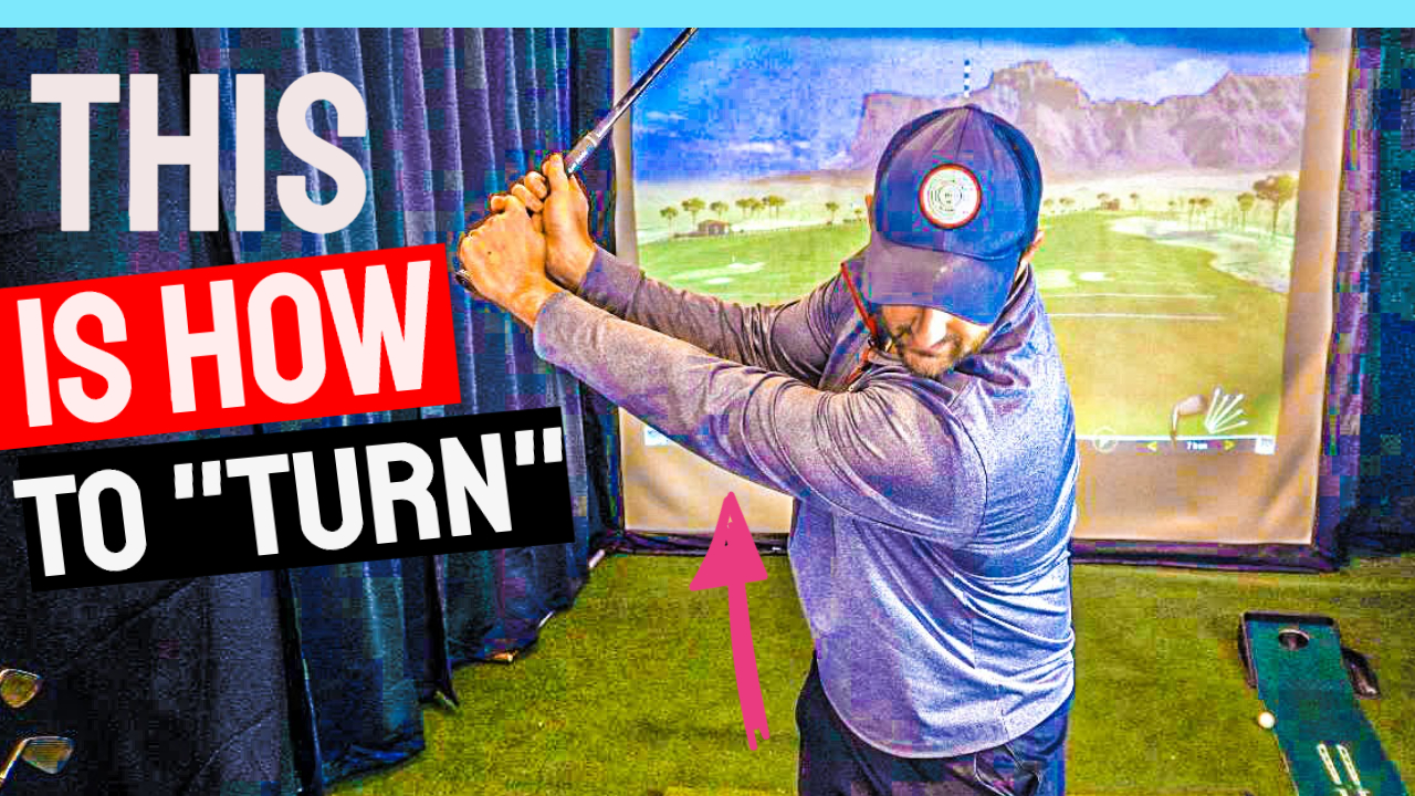 backswing turn