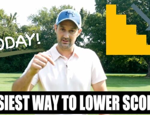 The Easiest Way To Lower Your Golf Score TODAY