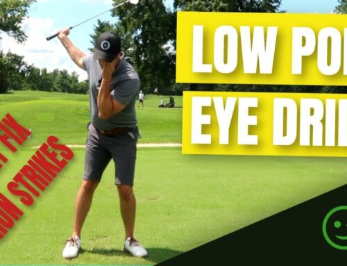 Stop Hitting Behind The Ball ➡ Low Point Consistency Drill To Strike Your Irons